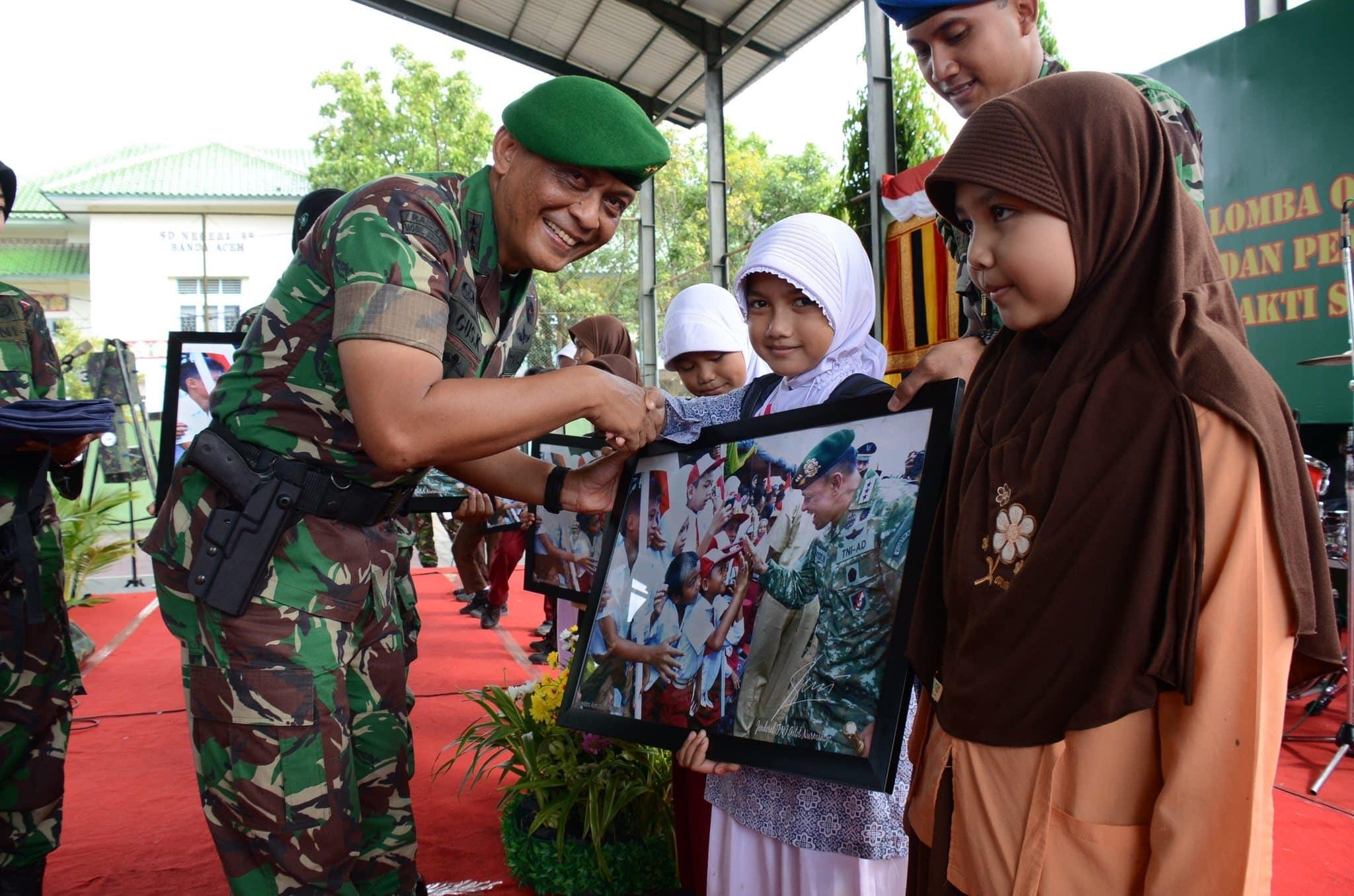 Pangdam IM Bagikan Foto Kasad Jendral TNI Gatot Nurmantyo