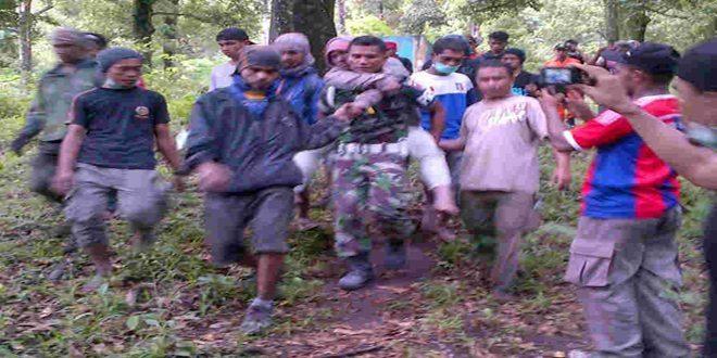 Evakuasi P.Gunung Gamalama 1
