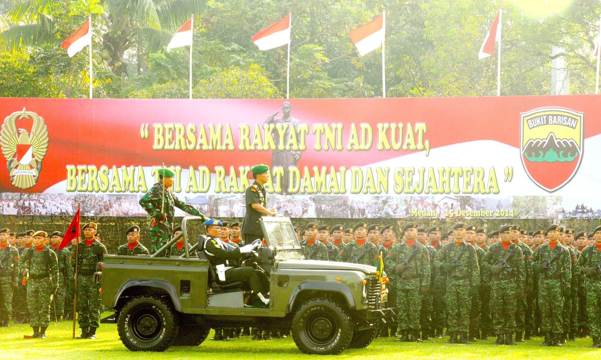 """KASAD : """"BERSAMA RAKYAT TNI AD KUAT, BERSAMA TNI AD RAKYAT DAMAI DAN SEJAHTERA"""""""