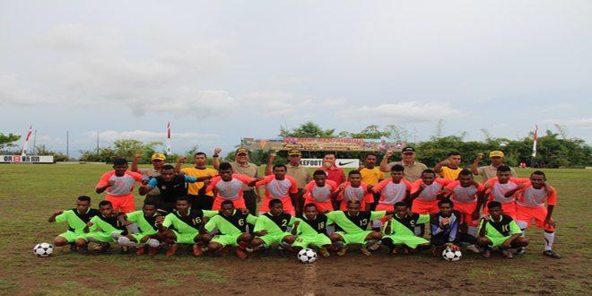 Kodam XVII/Cenderawasih Gelar Piala Pangdam Cup Turnamen Sepak Bola U-16