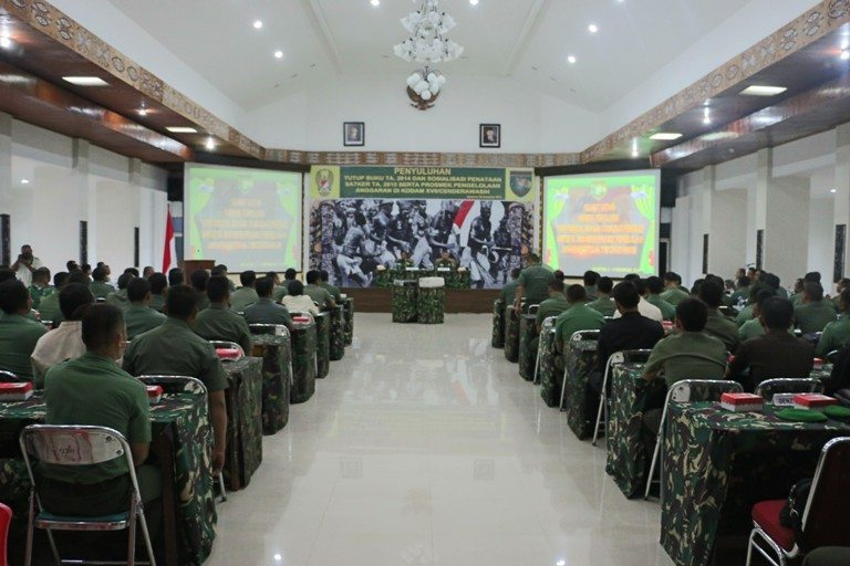 Sosialisasi Penataan Satker TA 2015 Dan Penyuluhan Tutup Buku TA 2014 di Kodam XVII/Cenderawasih