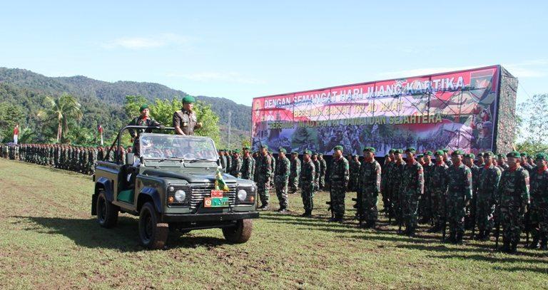 Kodam XVII/Cenderawasih Gelar Upacara Hari Juang Kartika TNI AD