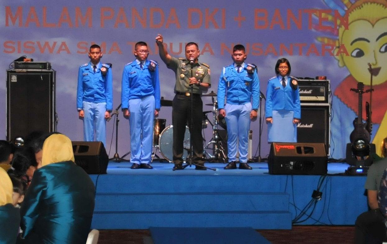 Kasad : Raih Mimpimu Setinggi Mungkin di SMA Taruna Nusantara .
