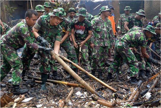 Korem 051/Wkt Perang Melawan Sampah