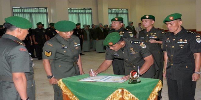 Pergantian Pejabat Jajaran Korem 051/WKT