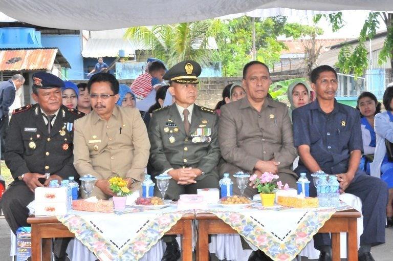 KASREM 171/PVT HADIRI UPACARA HUT-69 ARMADA RI TAHUN 2014
