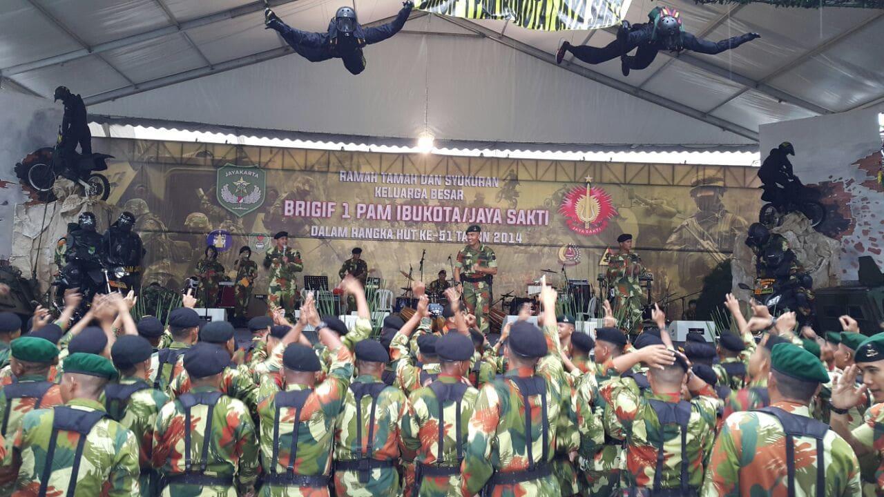 Acara Syukuran HUT ke-51 Brigif-1 Pam Ibu Kota/Jaya Sakti