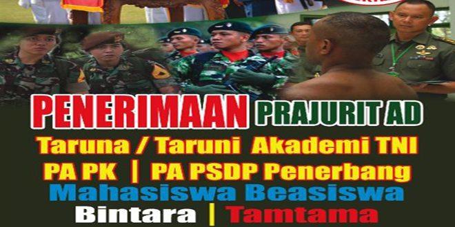 Penerimaan Prajurit TNI AD TA. 2015
