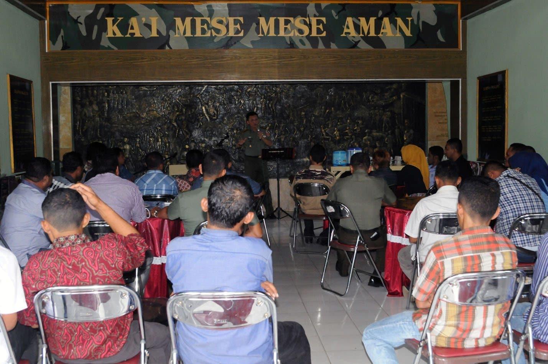 Tatap Muka Danrem 151/Binaya Dengan OKP Maluku