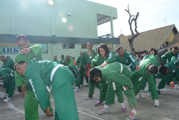 Korem 081/DSJ Melaksanakan Latihan Yongmoodo