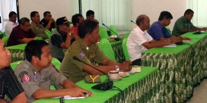 Rapat Koordinasi Penanggulangan Bencana Kabupaten Wonogiri Tahun 2015