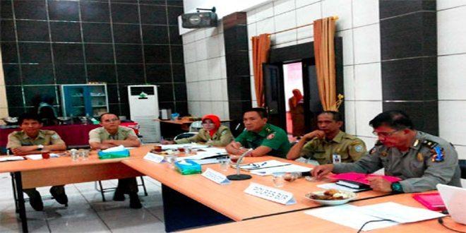 Rakor Tim Terpadu Penanganan Gangguan Keamanan Kabupaten Banjar