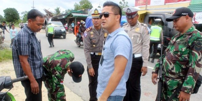 Gelar Gaktib Gabungan Satgas Pamtas Yonif 400/Raider Bersama Polres Kabupaten Keerom