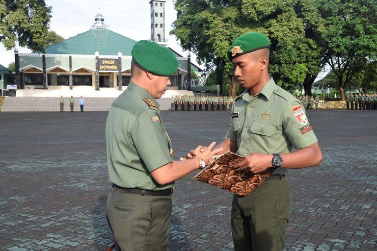 Pangdam VII/Wrb Komitmen Apresiasi Prajurit Berprestasi