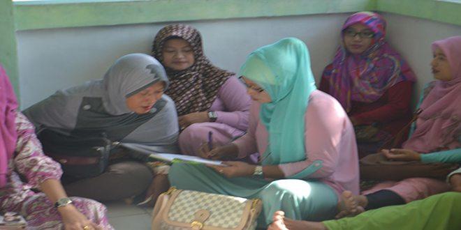 Persit Kck Cabang XIII/Sorong Melaksanakan Kegiatan Bintal