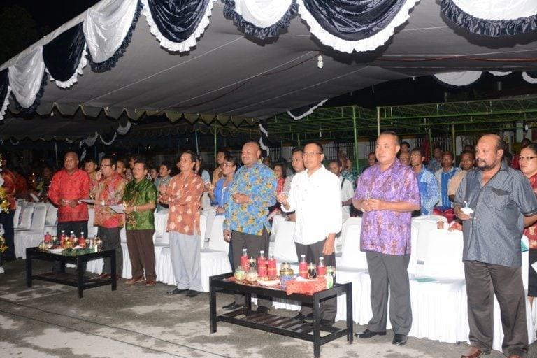 DANREM 173/PVB HADIRI NATAL GABUNGAN PEMDA, TNI/POLRI SERTA MASYARAKAT KABUPATEN BIAK NUMFOR
