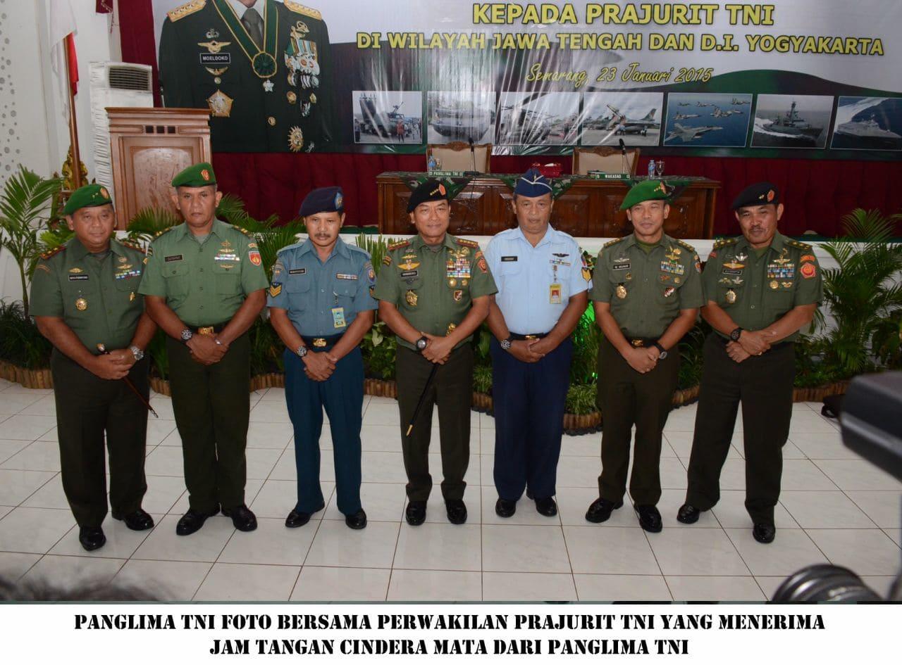 Kunjungan Panglima TNI di Kodam IV/Diponegoro
