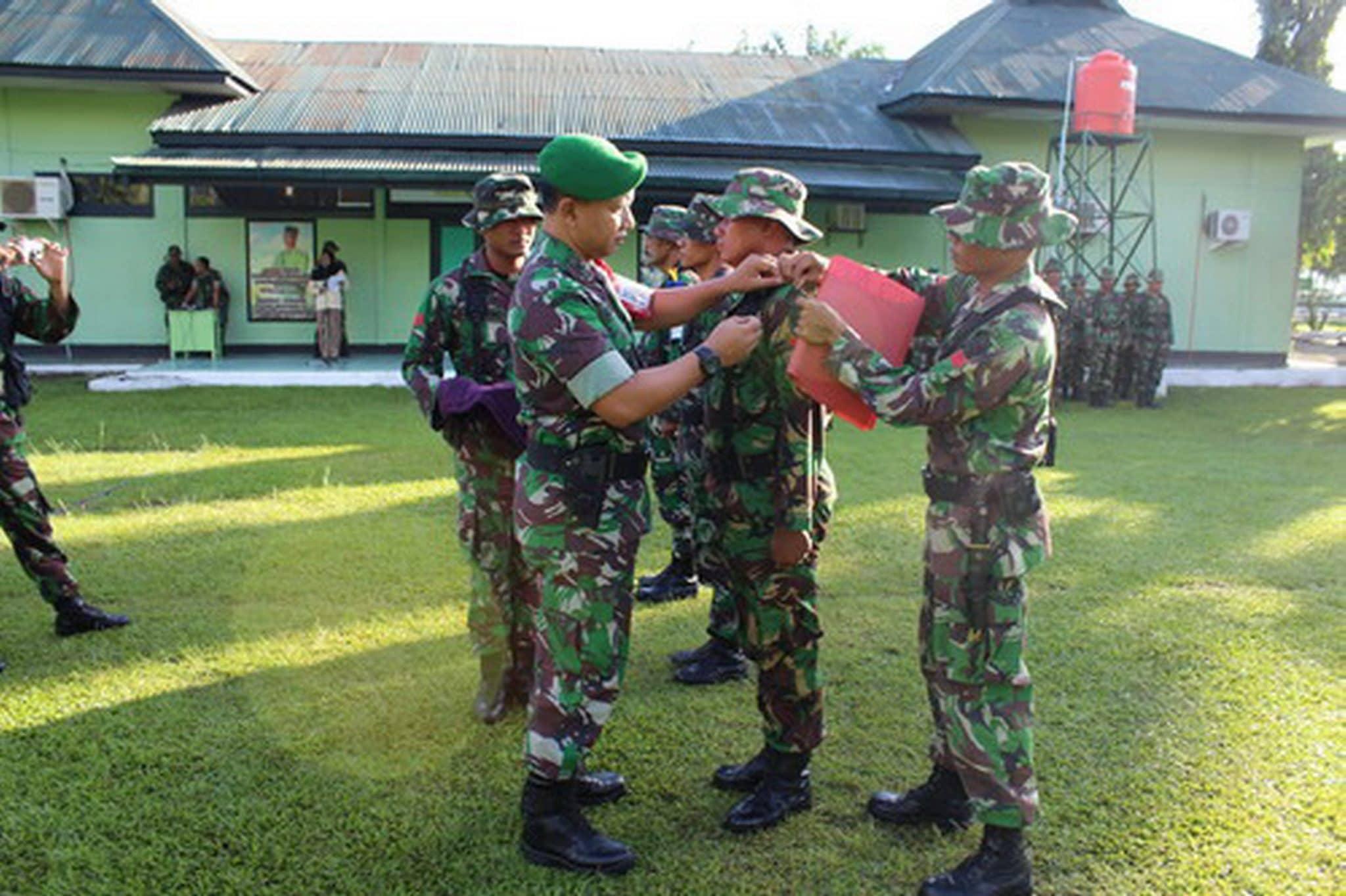 Kodim 0108/Agara Gelar Latihan Perorangan TA. 2015