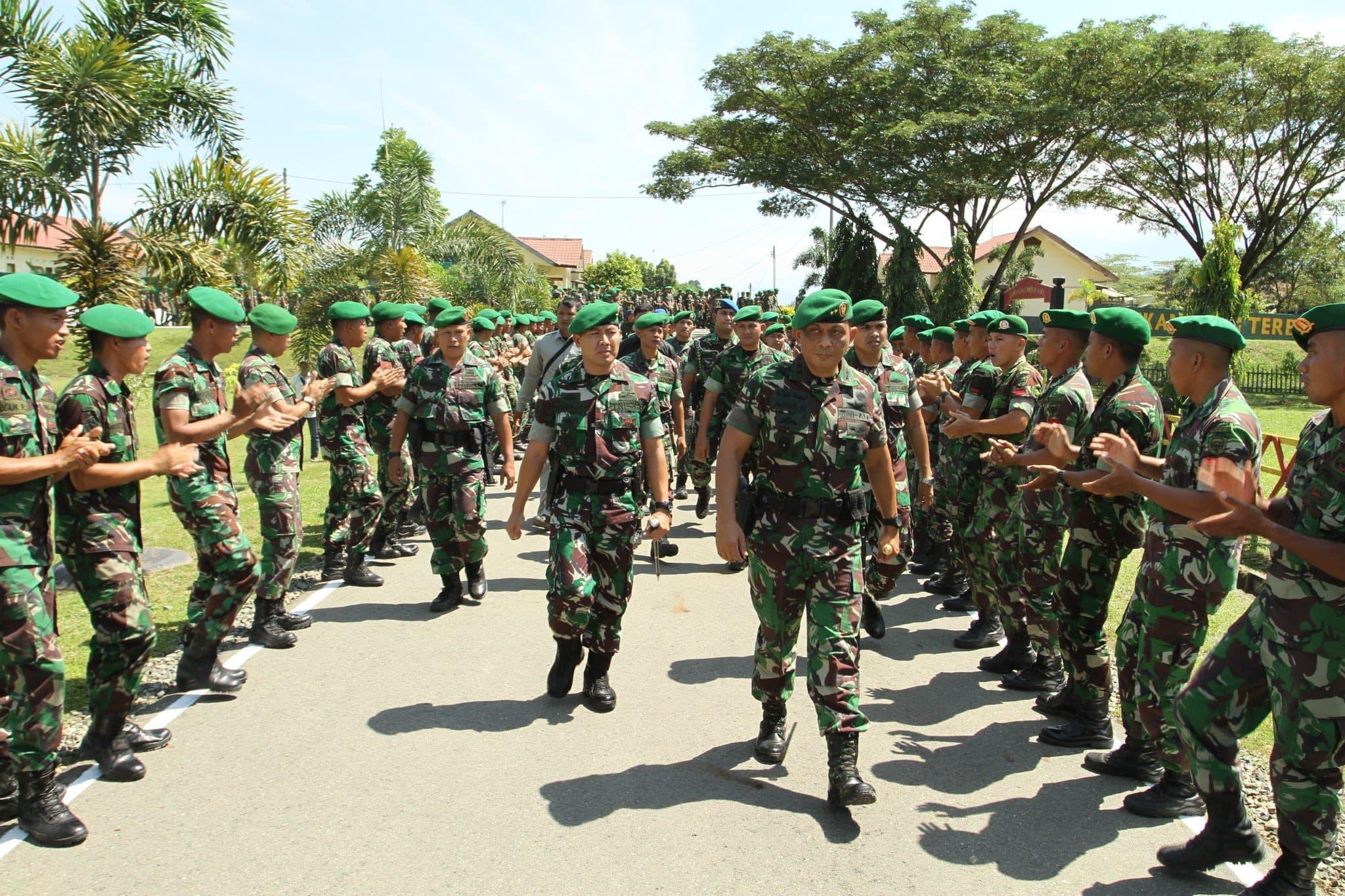 Pangdam IM : Prajurit Harus Hindari Tujuh Pelangaran Berat