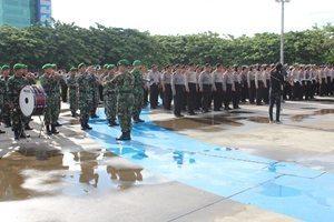 Gelar Pasukan Pengamanan Kunjungan RI-2 di Sulsel