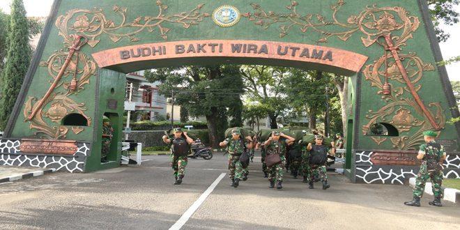 Capasis Diktukpa TNI AD tiba di Secapaad