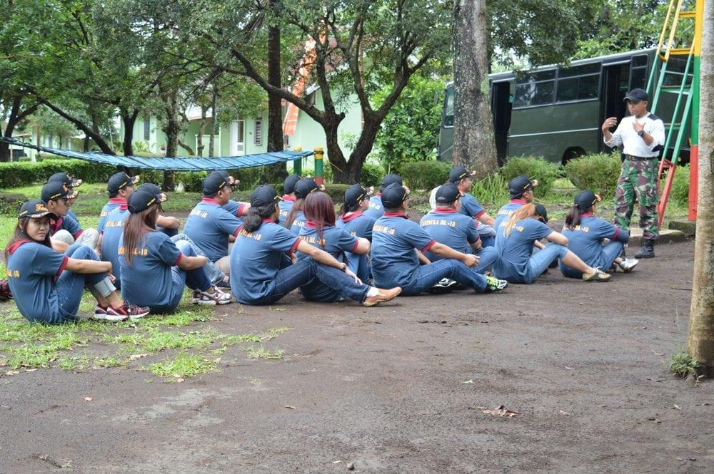 BRIGIF 18 KOSTRAD TUMBUHKAN WAWASAN KEBANGSAAN KARYAWAN PT GLUTERA INDONESIA