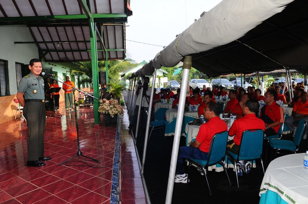 Olahraga Bersama Jajaran Kesehatan TNI-Polri