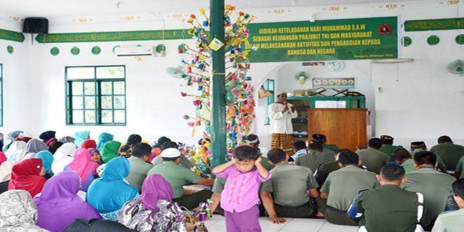 Korem 142/Tatag Merayakan Maulid Nabi Muhammad SAW