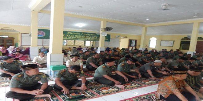 Dandim 0406/Mura Adakan Maulid Nabi Muhammad SAW 1436 H/ 2015 M