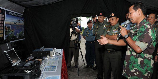 Panglima TNI Tinjau Gelar Komlek di Mabes TNI