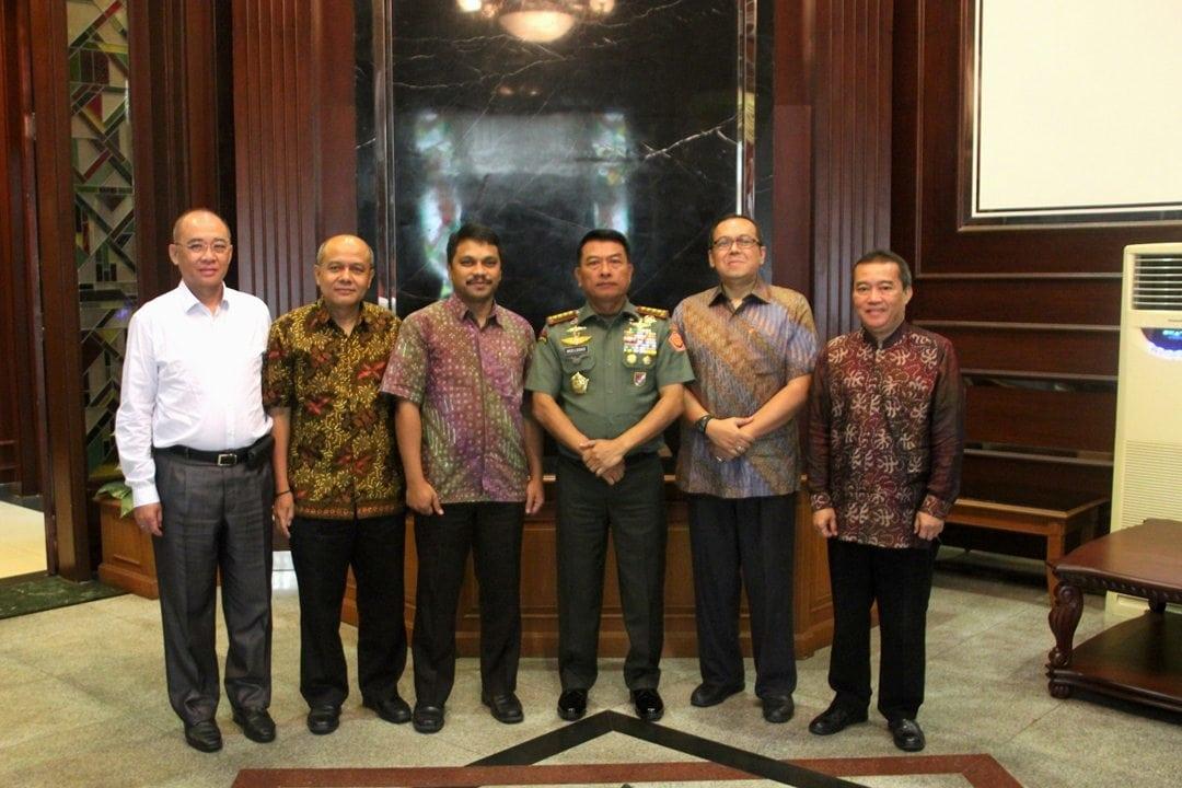 PT. LAPI Paparkan Radar Dihadapan Panglima TNI