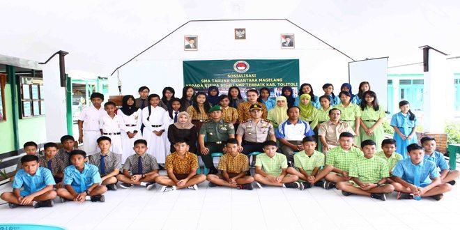 Dandim 1305/BT Sosialisasikan Tentang SMA Taruna Nusantara