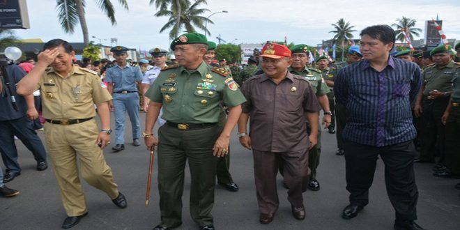 TNI AD Menggelar Pameran Alutsista