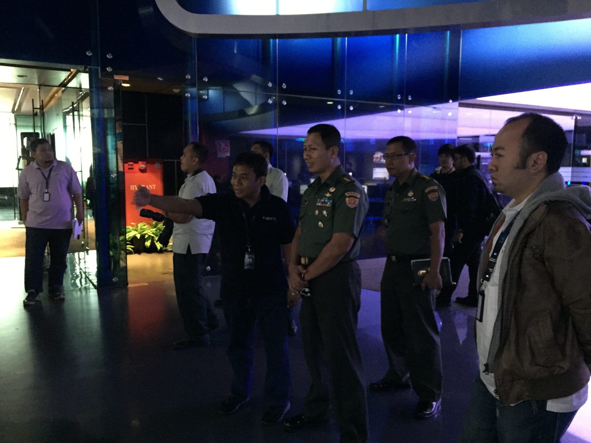 Kadispenad Berkunjung ke NET TV