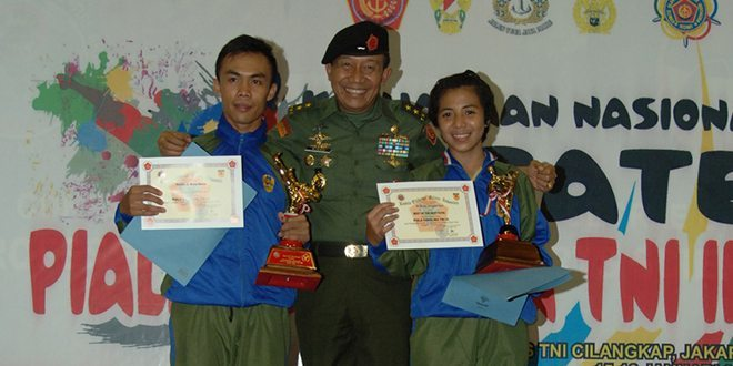 Kejurnas Karate Piala Panglima TNI III Ditutup