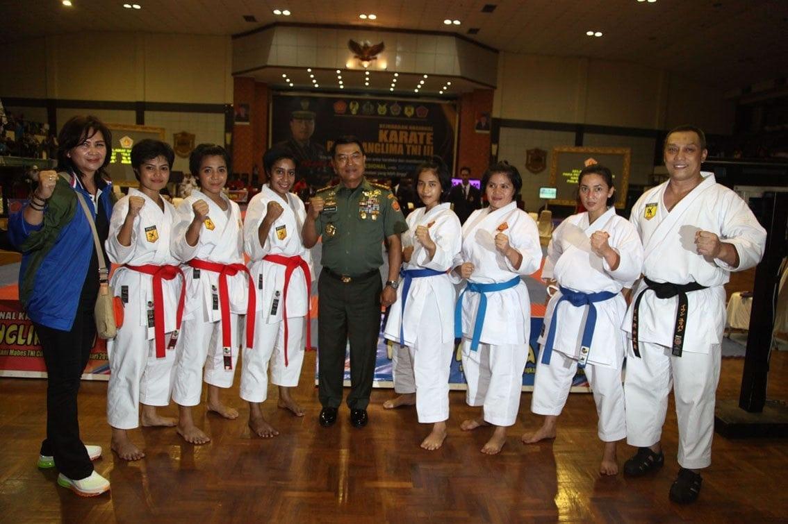 Panglima TNI : Karate Membentuk Prajurit Sejati