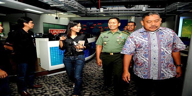 Kepala Dinas Penerangan Angkatan Darat Kunjungi SCTV, Indosiar, Liputan6.com dan O Channel