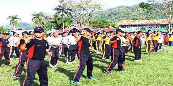 Kodim 1305/BT Menggelar Kegiatan Olahraga Bersama dan Karya Bhakti