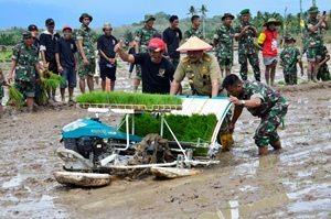 Gandeng TNI,Gubernur Sulawesi Barat Tingkatkan Ketahanan Pangan