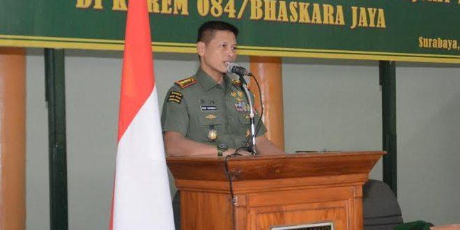 Sosialisasi Permenhan Nomor 32 Tahun 2013 Di Korem 084/Bhaskara Jaya