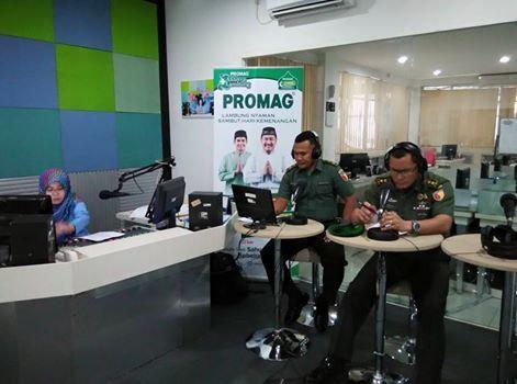 Kapendam V/Brw Sosialisasikan Rekrutment Prajurit TNI AD