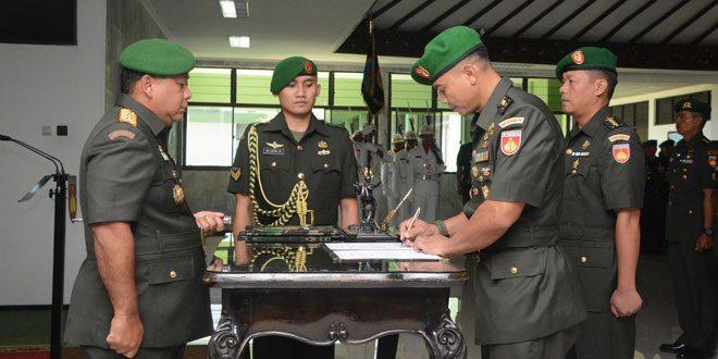Pangdam IV/Diponegoro Pimpin Sertijab Pejabat Kodam