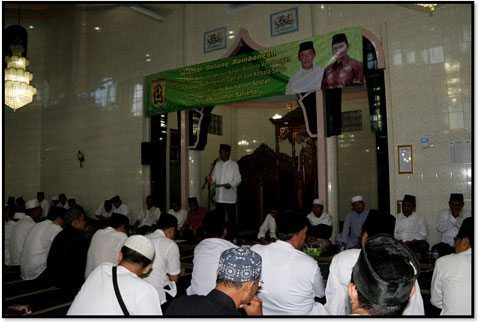 Dandim 1006/Mtp Safari Ramadhan Bersama Gubernur Kalsel