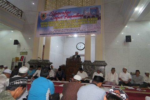 Silaturahmi Dan Safari Ramadhan Bersama Gubernur Kalsel Dan Bupati Banjar