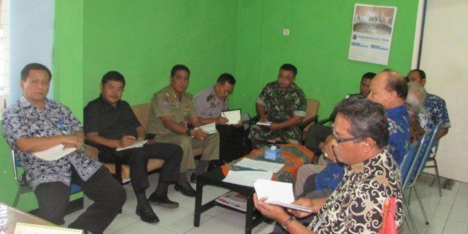 Rapat Pengamanan Lebaran Tahun 2015