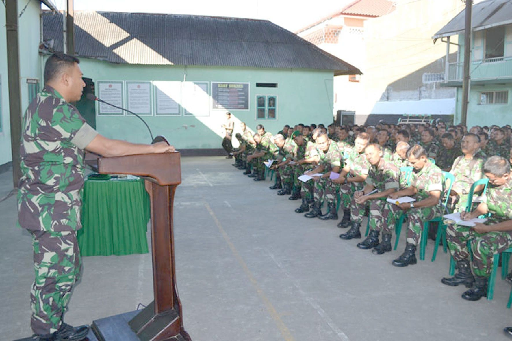 Acara Jam Komandan Kodim Magetan (1)