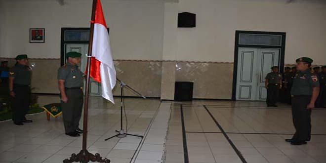 Danrem 082/Cpyj Terima Laporan Korps Pindah Satuan
