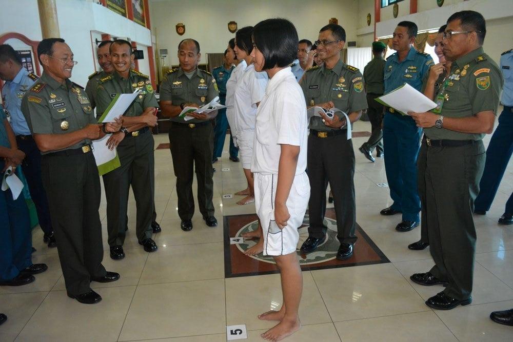 Sidang Pemilihan Calon Taruna/Taruni Akmil Ta. 2015