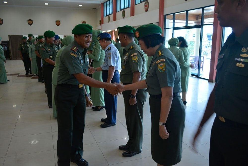7 Perwira Menengah Dikukuhkan Sebagai Warga Kodam II/Swj