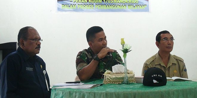 Dandim 1703/Mkw Menjadi Narasumber Dialog Interaktif di RRI Manokwari